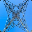 High voltage tower — Stock fotografie