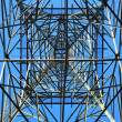 High voltage tower — Stockfoto