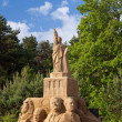 Royalty-Free Stock Photo: IV International Gdansk Plener sculptures made of sand