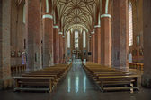 Basilica of Sts. Catherine in Braniewo, Poland. — Stock Photo