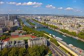 Птичьего полета из Парижа — Стоковое фото