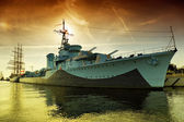 Warship — Stock Photo