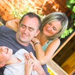 Happy family — Stock Photo #3482282