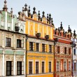 Old city buildings — Stock Photo