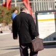 Businessman go to work — Stock Photo