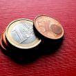 Coins EURO — Stock Photo