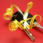 Car keys gift — Stock Photo #3484253