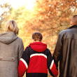 Family walk - Stock Photo