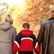 Stock Photo: Family walk