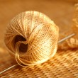 Stock Photo: Yarn ball