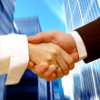 Business handshake — Stock Photo #3485196