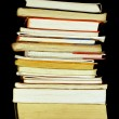 Stock Photo: Books pile