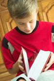 Reading book — Stock Photo
