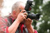 Fotografo professionista — Foto Stock