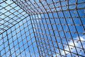 Padrão quadriculada no céu — Foto Stock