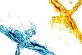Fresh water splash — Stock Photo