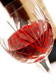 Wine bottle — 图库照片