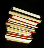 Books pile — Stock Photo