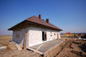 A house being built — Stock Photo