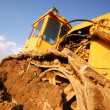 Excavator working - Stock Photo