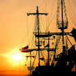 Royalty-Free Stock Photo: Pirate ship