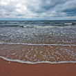 Cloudy sea landscape - Stockfoto