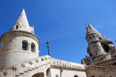 The great tower of Fishermen's Bastion — Stock Photo