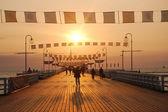 Sunrise walk — Stock Photo