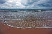 Cloudy sea landscape — Stock Photo