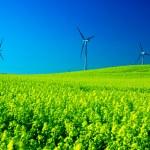 Wind turbines. — Stock Photo #3500302