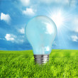 Green energy concept — Stock Photo #3510380