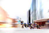 Abstract rush hour — Stock Photo