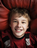 Portrait of happy young boy — Stock Photo
