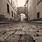 Prague. Old, charming street — Stock Photo