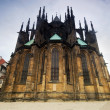 Prague. St. Vitus Cathedral — Stock Photo #3784924