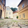Prague. Old architecture, charming streets — Stock Photo #3785236