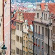 Stock Photo: Prague. Old architecture, charming buildings