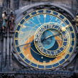 Prague. The Astronomical Clock - Stock Photo