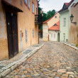 Stock Photo: Prague. Old architecture, charming streets