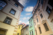 Prague. Old, charming buildings — Stock Photo