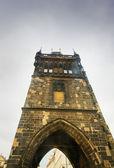 Bridge Tower in Prague — Stock Photo