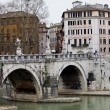 Tevere River - Stock Photo