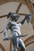 Statue Of Perseus — Stock Photo