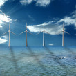 Wind farm — Stock Photo #3129587