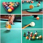 Billiard game concept — Stock Photo