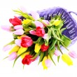 Basket full of tulips — Stock Photo #2980751