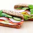 Royalty-Free Stock Photo: Delicious sandwiches