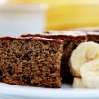 Banana cake - Stock Photo