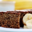 Banana cake — Stock Photo #3052551