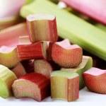 Fresh rhubarb — Stock Photo #3095139